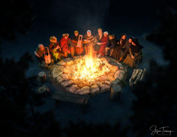 At the Campfire