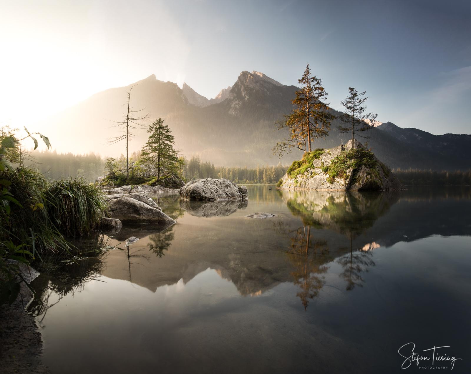 Sonnenaufgang am Hintersee