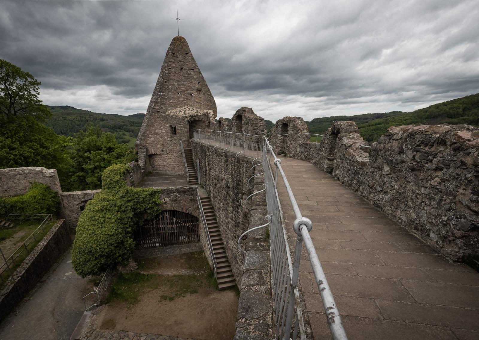Ruine von Burg Lindenfels