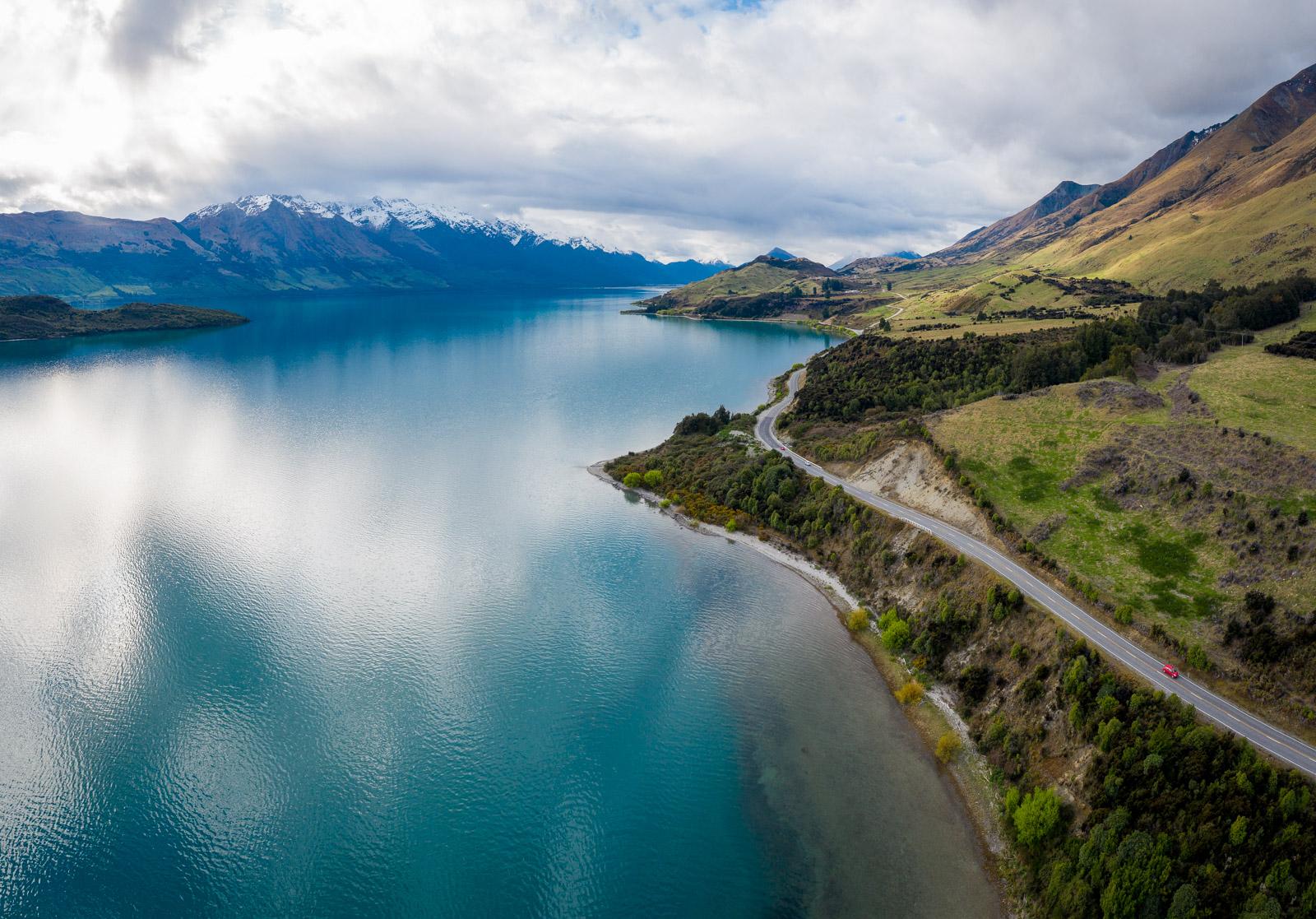 Blick über den Lake Wakatipu